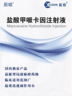 鹽酸甲哌卡因注射液